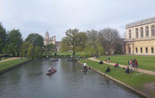La historia de Andrés Viéitez en Cambridge